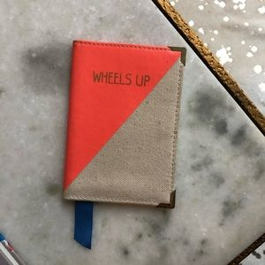 persifor Accessories - Persifor Wheels Up Canvas Passport Cover ✈️